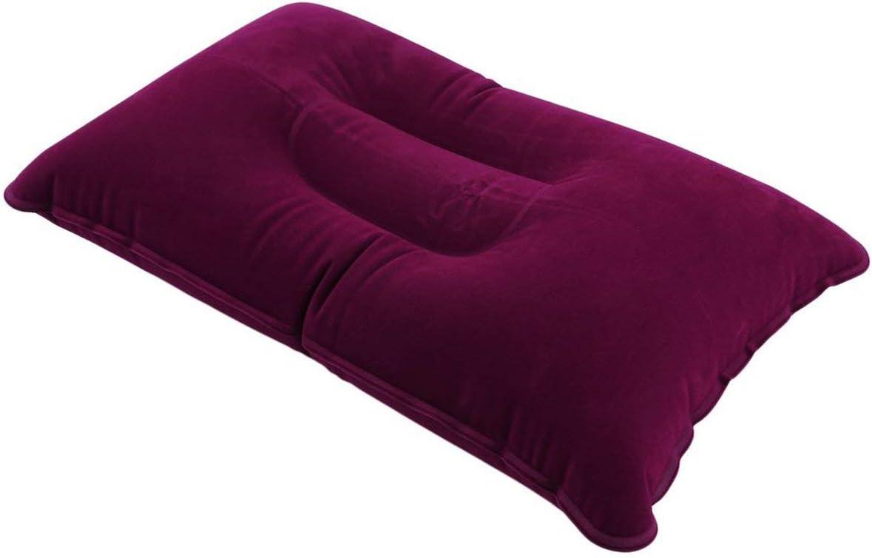 Romirofs Portable Fold Outdoor Travel Sleep Pillow Air Inflatable Cushion Break Rest Comfortable Pillows for Sleep Travel Accessories