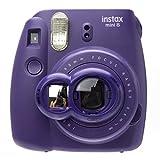 CAIUL Close-Up Lens with Self-Portrait Mirror for Fujifilm Instax Mini 8/ 8+/ 7s (Grape)