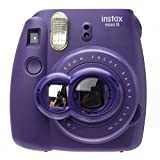 Nodartisan Close-Up Lens with Self-Portrait Mirror for Fujifilm Instax Mini 8 8+ 9 7s (Grape)