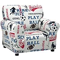 Kidz World Sports - American Blue Club Chair