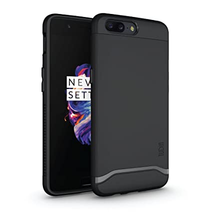 timeless design a0726 e2343 TUDIA OnePlus 5 Case, Slim-Fit HEAVY DUTY [MERGE] EXTREME Protection/Rugged  but Slim Dual Layer Case for OnePlus 5 (Matte Black)