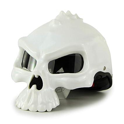 Pro Braking PBK0601-WHT-SIL Front//Rear Braided Brake Line White Hose//Stainless Banjos
