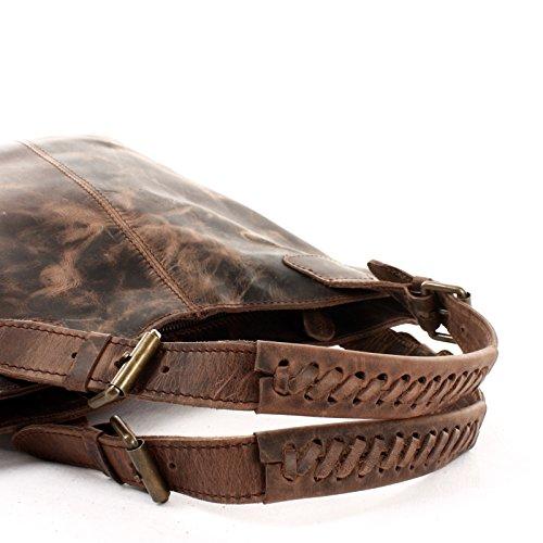 à 34x35x10cm provisions femme Sac pour Leconi cuir à sacs en en à LE0033 cuir véritable main pour les pour bureau femme Sacs femme le boue pour Sac cireux main SwxH4xRzq