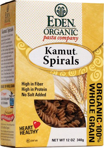 Eden Foods Organic Pasta Company Kamut Spirals -- 12 oz - 2 pc