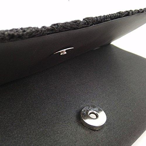 SSMK Evening Bag - Cartera de mano para mujer albaricoque