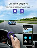 Dual Dash Cam, VAVA 2K Front and 1080P Cabin or