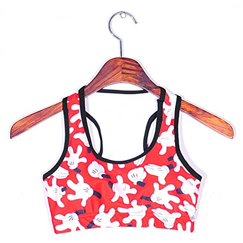 JFIN Femmes Sport Soutien-gorge Mélange De Polyester Liberté Sans Couture Couleur Fluorescente Indy Pro