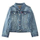 Levi's Girl's Denim Trucker Jacket, Vintage Waters, 3T