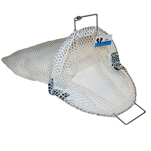 JCS Nylon Commercial Scallop Bag with Coated Wire, X-Large, Approx. 27inch x 33inch by JCS