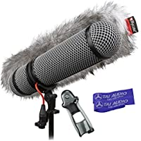 Rycote Super-Blimp Windshield Kit for Sennheiser MKH416 Shotgun Mic with (2) TAI Audio Cable Straps