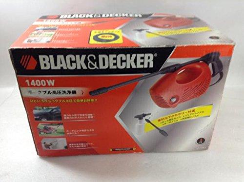 BLACK&DECKER ポータブル高圧洗浄機 Z-PW1450 B0199NNQ2W