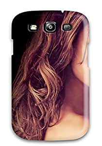Galaxy S3 Case Cover - Slim Fit Tpu Protector Shock Absorbent Case (alessandra Ambrosio Face )