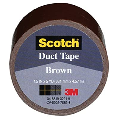 3M COMPANY 1005-BRN-IP 1.5x5YD Brown Duct Tape