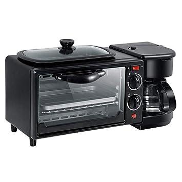 Amazon.com: HYX 3 en 1 Desayunador, Horno multifunción para ...