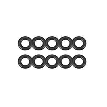 Width of 2 mm Internal Diameter of 12 mm O-Rings Nitrile Rubber Round Seal Gasket Pack of 10 External Diameter of 16 mm