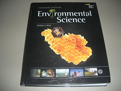 Holt McDougal Environmental Science: Teacher Edition 2013 by HOLT MCDOUGAL