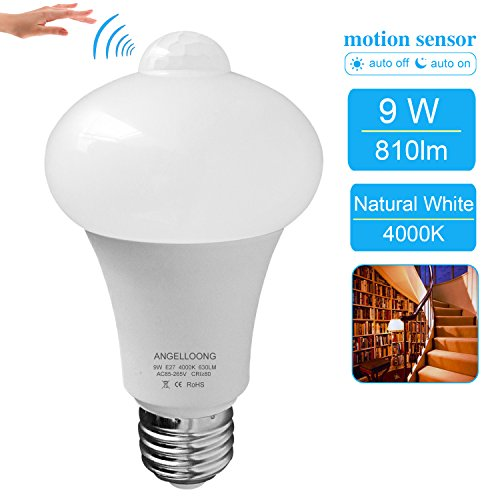 Motion Sensing Light Socket Outdoor