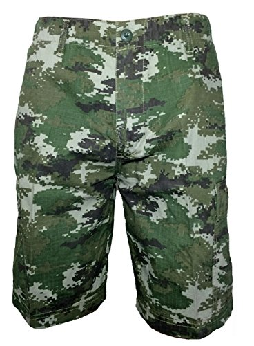 Ranger Return Subdued Urban Digital Camo Military BDU Shorts Woodland Ranger (Woodland Camo Booty)