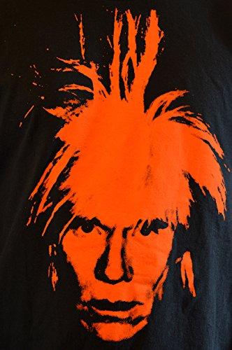 """FACES T-shirt Uomo """"Andy Warhol"""" Handserigraphie mit Wasser"""