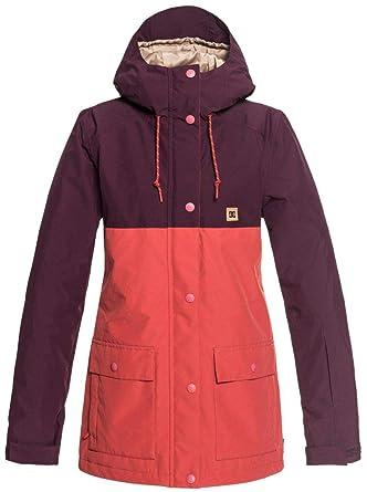 199fc5291543 Amazon.com: DC Cruiser Snowboard Jacket Winetasting Womens Sz S: Clothing