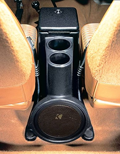 Select Increments 1976-1995 Jeep CJ7 CJ8 YJ Wrangler Intra Pod Console with Kicker Sub Woofer 21576K (Subwoofer Console Jeep)