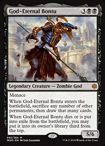 MTG War of the Spark: God-Eternal Bontu - 092/264 - Rare - NM/M