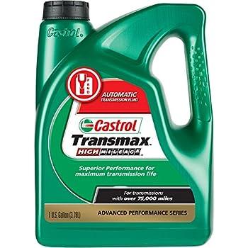 Castrol 03518 Transmax ATF Green High Mileage Transmission Fluid - 1 Gallon
