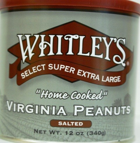 Salted Peanuts -2 PACK- Whitleys Select Super Extra Large