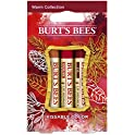 Burt's Bees Kissable Color Lip Shimmers Warm Holiday Gift Set