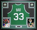 Larry Bird Autographed Green Boston Celtics