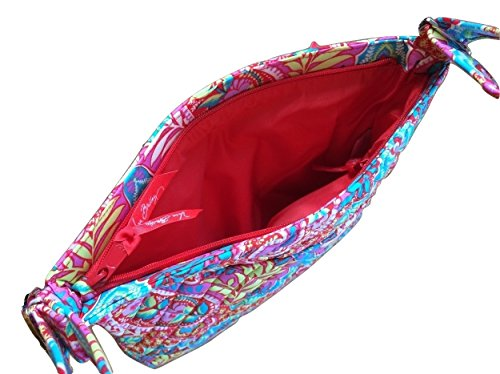 Hipster in Bag body Interior Updated Paradise Cross Interiors Triple with Solid Red Bradley Zip Paisley Vera With t7pqUU