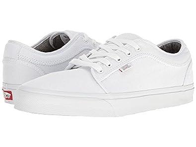 cbbb1bf5ce8737 Vans Men s Chukka Low Skateboarding Shoe (Canvas) White White (6.5 D US