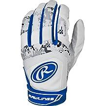 Rawlings Digi Camo 5150 Series Youth Batting Gloves, Navy, Small
