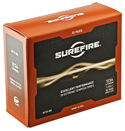 Surefire 72 Pack 123A Lithium Batteries by SureFire