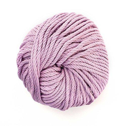 Fancy Yarn Light (JubileeYarn Bamboo Cotton Chunky Yarn - Lilacs - 2 Skeins)