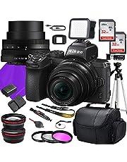 $879 » Nikon Z50 DX Mirrorless Camera with NIKKOR Z DX 16-50mm f/3.5-6.3 VR Lens + 64GB Memory + Tripod + Accessory Bundle (22 Total Pieces)