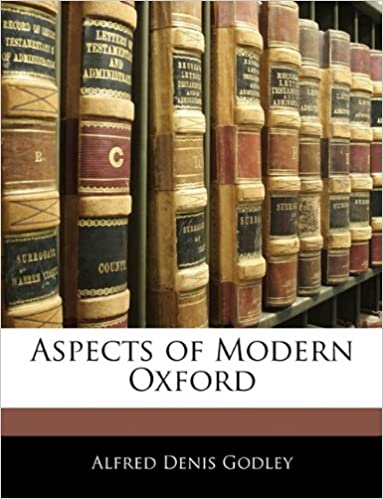 Book Aspects of Modern Oxford