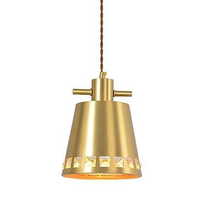 Diamante candelabro Cobre Lamparas de Techo Moderno Gotitas ...