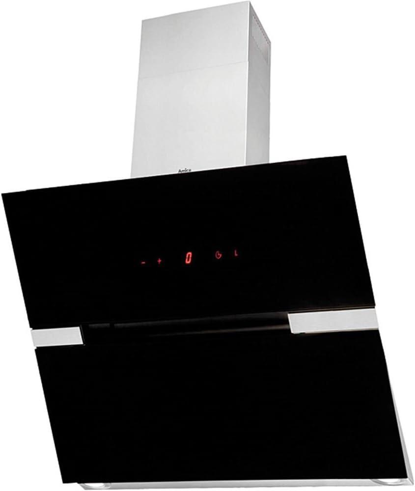Amica OKC951S - Campana (900 m³/h, 49 dB, 45 cm, 65 cm, De pared, Negro, Blanco): Amazon.es: Hogar