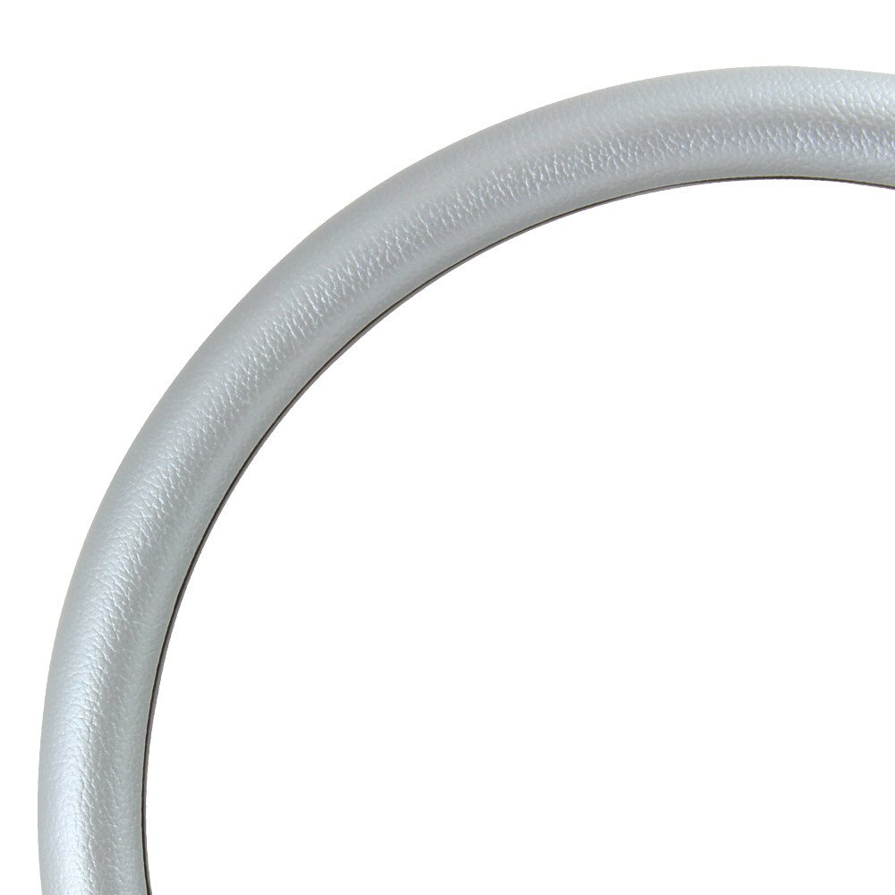 5-bolt Steering Wheel 14 Inch Aluminum with Grey Wrap and Horn