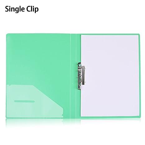 Carpeta archivadora de polipropileno, tamaño A4, archivador de palanca, carpetas de papel de