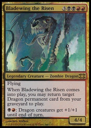 Amazoncom Magic The Gathering Bladewing The Risen From The