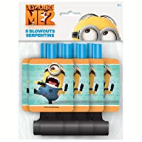 Despicable Me Party Blowers 8ct