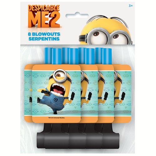 Despicable Me Party Blowers, 8ct]()