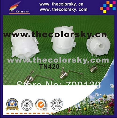 Printer Parts (ACC-TN420) Reset Lever Plastic Nylon Gear Wheel with Spring for Brother TN-2235 TN-2275 TN-2090 TN-27J TN-11j DCP-7055 ()