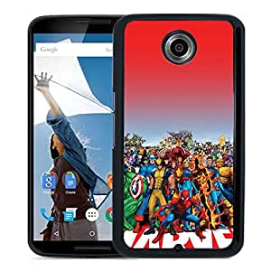 Marvel Family Google Nexus 6 Phone Case On Sale