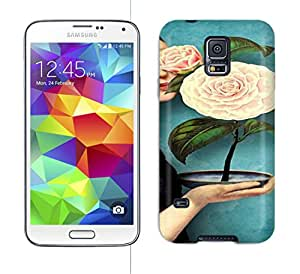 Running Gary May Flower Hard Phone Case For Galaxy S5