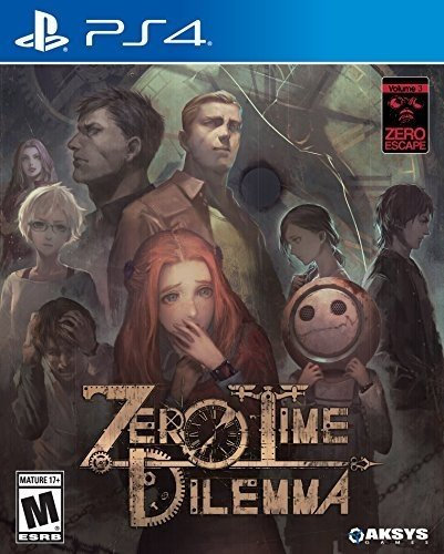 Zero Escape: Zero Time Dilemma - PlayStation 4 (Nonary Game)