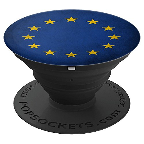 Vintage European Union Flag - PopSockets Grip and Stand for Phones and (Scoop Union)