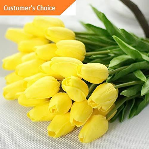 Hebel 10 Stems Artificial Floral Silk Fake Flower Bouquet Home Decor Wedding Decor 6 | Model ARTFCL - 354 ()